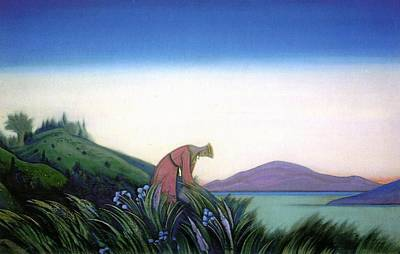 Kind Grasses - Vasilisa Wise Art Print by Nicholas Roerich
