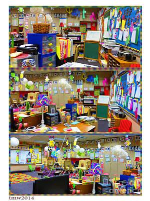 Tinawenger Photograph - Kindergarten Classroom by Tina M Wenger