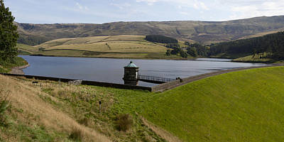 Kinder Reservoir Panorama Art Print