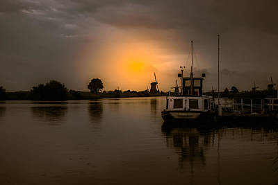 Photograph - Kinderdijk Netherlands by John Johnson