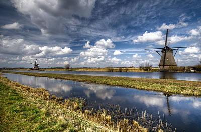 Photograph - Kinderdijk by Oleksandr Maistrenko