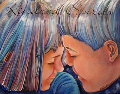 Painting - Kindred Spirits II by Carol Allen Anfinsen