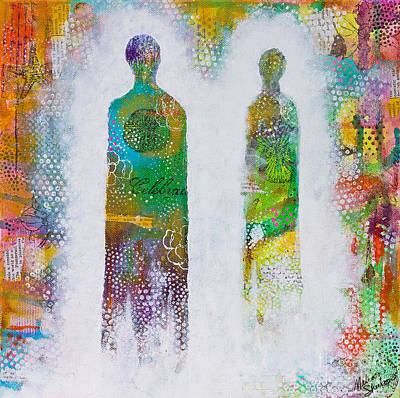 Mixed Media - Kindred Spirits by Melissa Sherbon