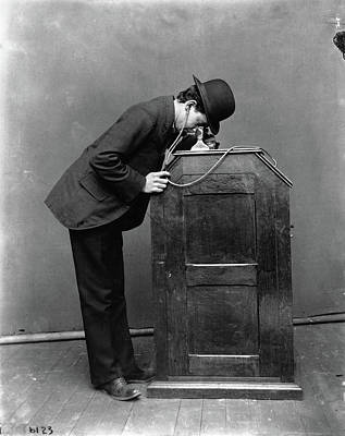 Invention Of Motion Photograph - Kinetophone, 1895 by Granger