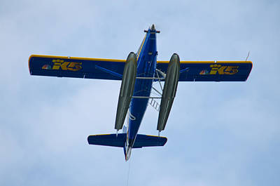 Photograph - King 5 News Plane by Tikvah's Hope