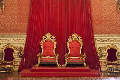 Throne Room Photograph - King And Queen Thrones by Jose Elias - Sofia Pereira
