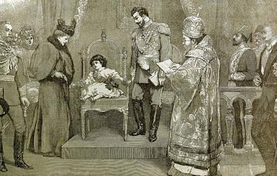 King Boris IIi (1894-1943 Art Print by Prisma Archivo