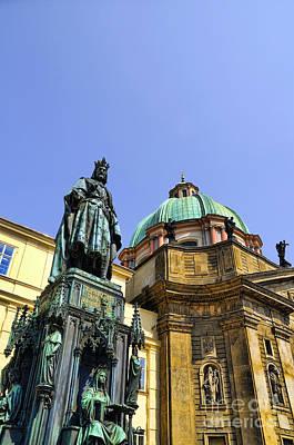 Photograph - King Charles In Prague by Brenda Kean