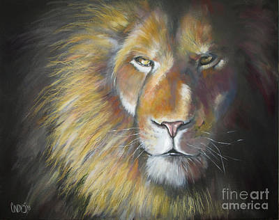 Yeshua Painting - King by Tamer and Cindy Elsharouni