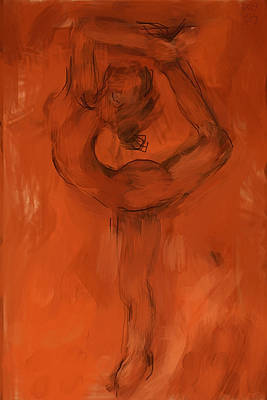 Painting - King Dancer by Chris Brown