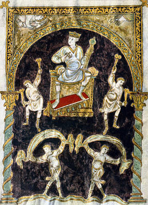 Psalter Painting - King David by Granger
