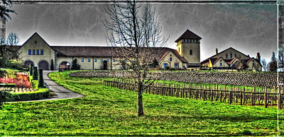 Photograph - King Estate Winery by Thom Zehrfeld