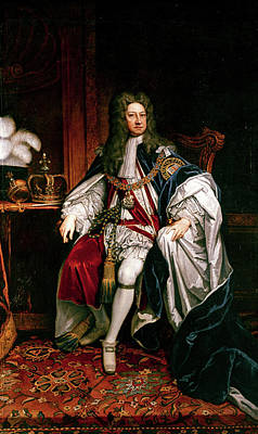 King George I Of England (1660-1727) Art Print