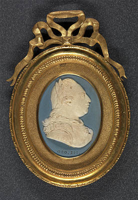 Master Potter Drawing - King George IIi Geo by Litz Collection