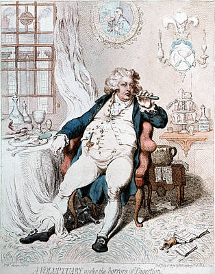 King George Iv Of England Art Print