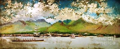 Hawaiian Islands Painting - King Kalakaua Jubilee by Pg Reproductions