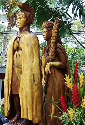 King Kamehameha Art Print
