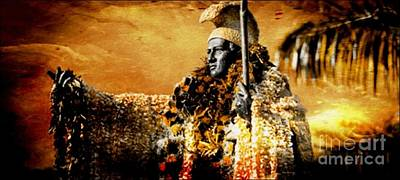 Laura Gundy Photograph - King Kamehameha I by Laura  Gundy