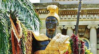 King Kamehameha The First Art Print by Craig Wood