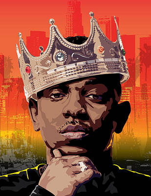 King Kendrick Art Print