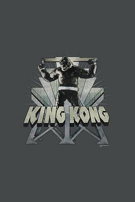 Gorilla Digital Art - King Kong - 8th Wonder by Brand A