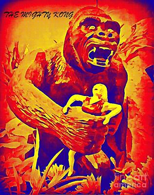 King Kong Art Print by John Malone