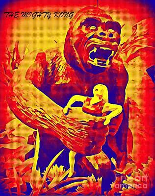 John Malone Art Work Digital Art - King Kong by John Malone