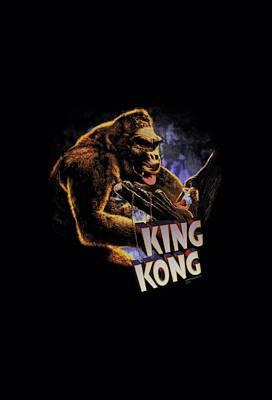Gorilla Digital Art - King Kong - Kong And Ann by Brand A
