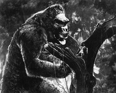 Fay Photograph - King Kong  by Silver Screen