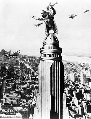 Photograph - King Kong by Underwood Archives
