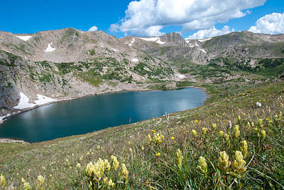 Photograph - King Lake In The Indian Peaks Wilderness Area by Cascade Colors