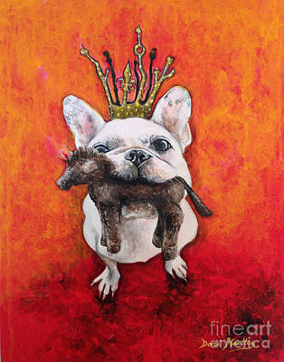 King Leroi Print by Dori Hartley