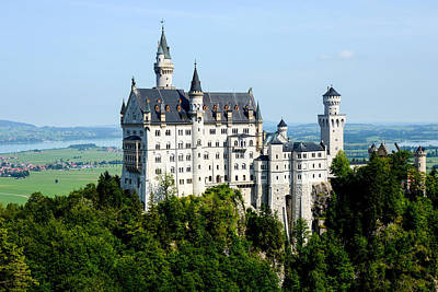 Photograph - King Ludwig's Neuschwanstein Castle by Marilyn Burton