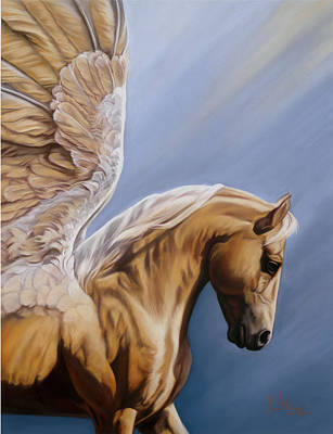 Wall Art - Pastel - King Midas by Kim McElroy