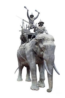 King Naresuan's War Elephant. Original