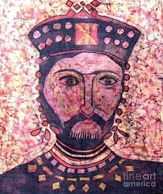 King Of Antiquity Art Print by Caroline Street