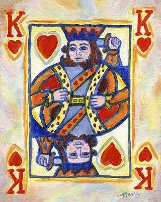 King Of Hearts Original by Linda Mears