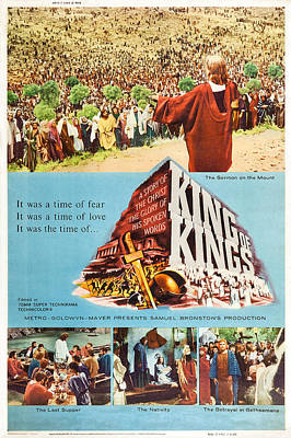 King Of Kings, Us Poster Art, 1961 Art Print