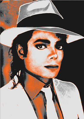 King Of Pop Revisited Art Print