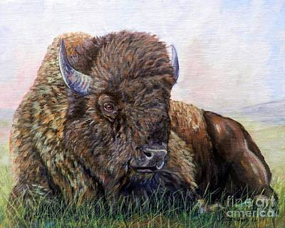Painting - King Of The Plains by Amanda Hukill