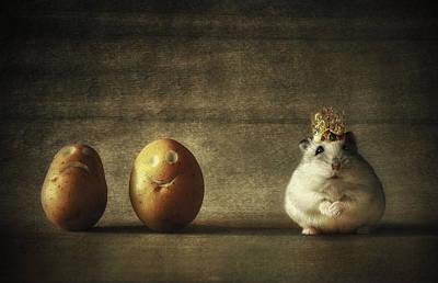 King Of The Potato People... Art Print