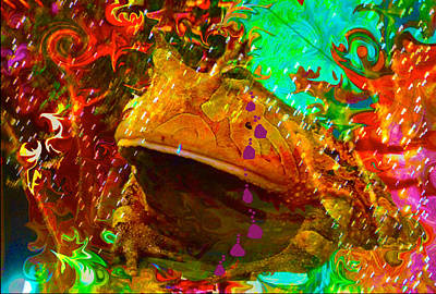 Photograph - King Of The Toads Weeps by Deprise Brescia