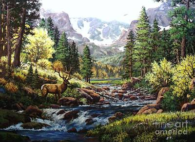 Painting - King Of The Valley by W  Scott Fenton