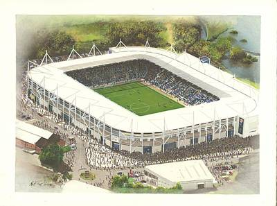 King Power Stadium - Leicester City Art Print by Kevin Fletcher