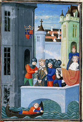 Richard Photograph - King Richard II As A Prisoner by British Library