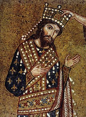 King Roger II Of Sicily Art Print