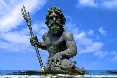Photograph - King Triton by DLL Production Co