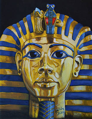 Painting - King Tut by Deirdre DeLay