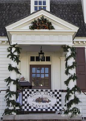 Kings Arms Tavern In Williamsburg Virginia Art Print by Teresa Mucha