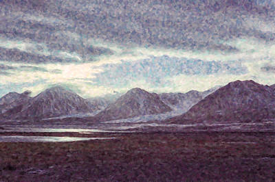 Arctic Painting - King's Bay by Hakon Soreide